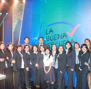 Escuela Concertada Solaris «Alto Trujillo» fue reconocida en «La Buena Escuela 2014»